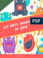 Les Mots Innovation de 2018