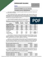 Informacion de Interes temporada 2010-2011
