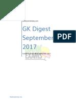 Gk Digest September 2017