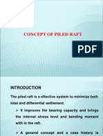 concept of Piled Raft Foundation - Dr Balakumar