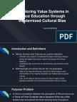 CUE Research Presentation