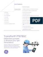 Transport Pt878gc Portable Flowmeter Francais