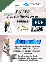 TALLER CONFLICTOS EN LA FAMILIA - dinamica