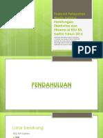 Evaluasi Pelayanan Medis Melalui Perhitungan Efektivitas Dan Efisiensi