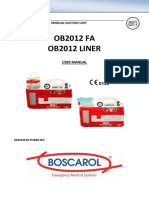 User Manual Boscarol
