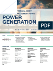 4th Annual Asset Management Forum 2017 Power Generation