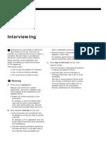 Jobs Interviewing