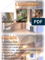 Staircase & Its Types