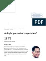 A Single Guarantee Corporation_ » Manila Bulletin Business (07102017)