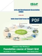 3day Foundation Course on Smart Grid