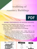 Retrofitting of Masonry Wall