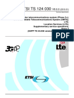 Location Services (LCS) in UMTS and LTE