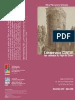 Dinan - Programme des conférences du Patrimoine