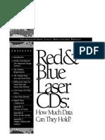 Red & Blue Laser CDs