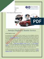 Antalya Flughafen Shuttle Service