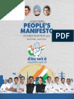 Congress Gujarat Manifesto 2017 Eng