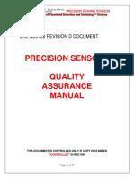 Quality_manual Precision Sensors