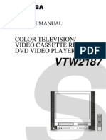 Toshiba VTW2187 Service Manual
