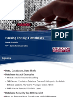 Hacking the Big 4 Jan 2013 FG