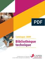Biblio Tec 2009