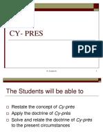 CY- PRES