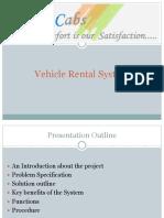 Vehicle Rental System_Slides