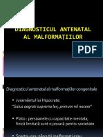 CURS 6 Diagnosticul Antenatal Al Malformatiilor New