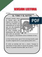 Lectura Del Toro y Raton