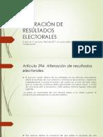 LEY 1864 DE 2017- DELITOS CONTRA LA PARTICIPACIÓN DEMOCRÁTICA