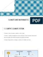 Climate and Mathematics