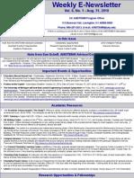 Newsletter 08 31 2010