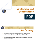 ArcCatolog and Geodatabases1