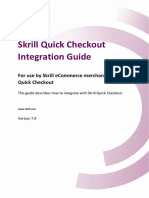 Skrill Quick Checkout Guide