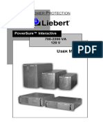 Liebert Manual