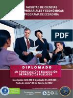 DIPLOMADO FORMULACI�N DE PROYECTOS