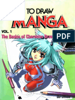 More How to Draw Manga Vol. 1 -The Basics of Character Drawing Go Office