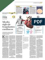 Medio Siglo de Trasplantes Cardíacos