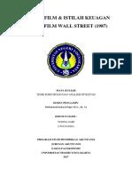 Resume & Istilah Wall Street