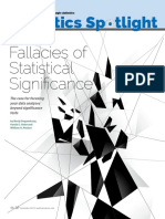 Fallacies of Statistical Significance