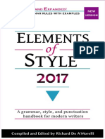 Elements of Style 2017