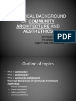 Historical Background of Community Architecture and Aesthethics