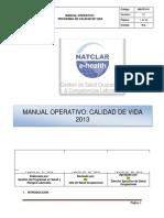 Manual Calidad de Vida 30.04.13
