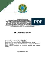 Relatório final da CPMI da JBS