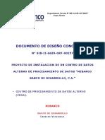 Diseño Consolidado Centro de Datos