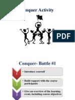 Conquer Activity