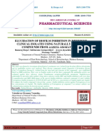 ELUCIDATION OF BIOFILM INHIBITION IN DIFFERENT CLINICAL ISOLATES USING NATURALLY ISOLATED COMPOUNDS FROM ALBIZIA ODORATISSIMA
