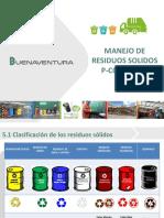 Manejo y Segregación de Residuos (1)