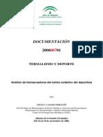 Antioxidantes y Deporte (Glutation)