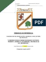 Terminos de Referencia a Nivel de Perfil Parque Sector III