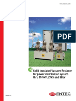 Solid Recloser ENTEC V3.1